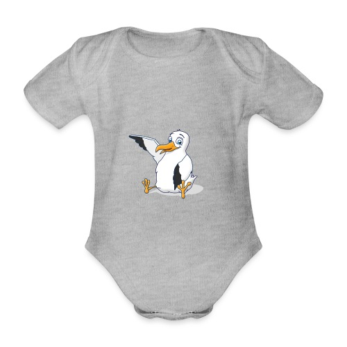 Möwi - Baby Bio-Kurzarm-Body