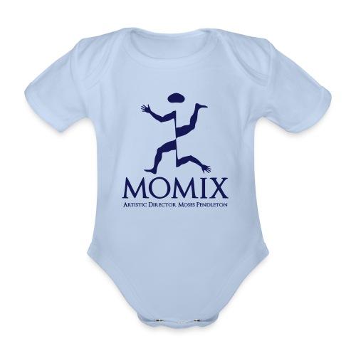 MomixLogo Back - Body ecologico per neonato a manica corta