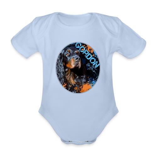 Gordon Setter Splash II - Vauvan lyhythihainen luomu-body