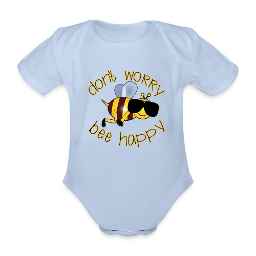 Bee happy, it´s summertime! - Baby Bio-Kurzarm-Body