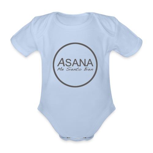 Centro ASANA . Me siento bien! - Body orgánico de manga corta para bebé