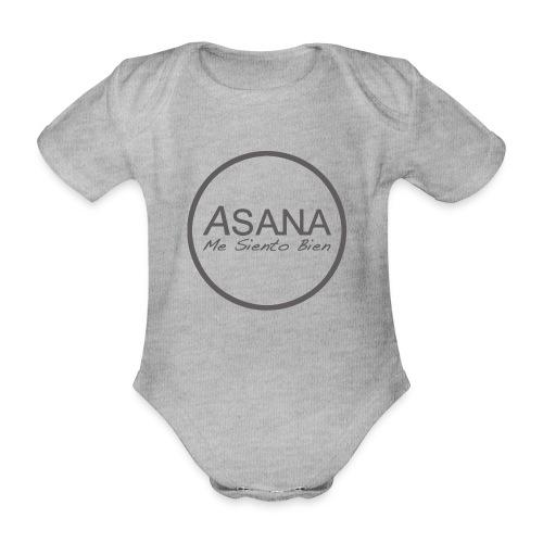 Centro ASANA . Me siento bien! - Body orgánico de maga corta para bebé