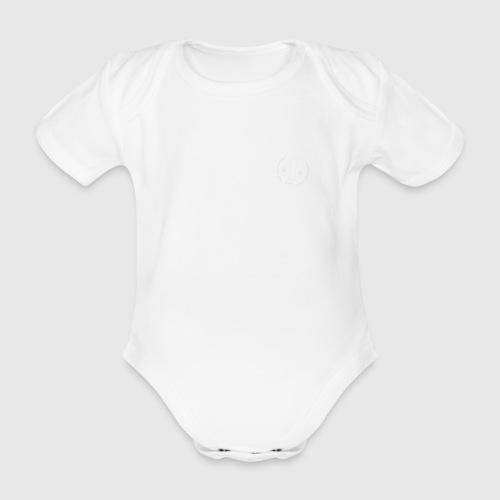 100 w png - Kortærmet babybody, økologisk bomuld