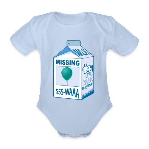 Missing: balloon - Organic Short-sleeved Baby Bodysuit