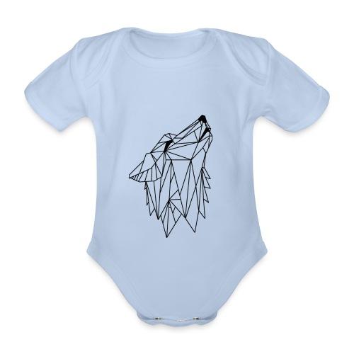 LUPO MOOD - Body ecologico per neonato a manica corta