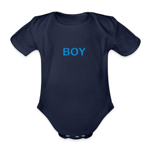 BOY - Baby Bio-Kurzarm-Body