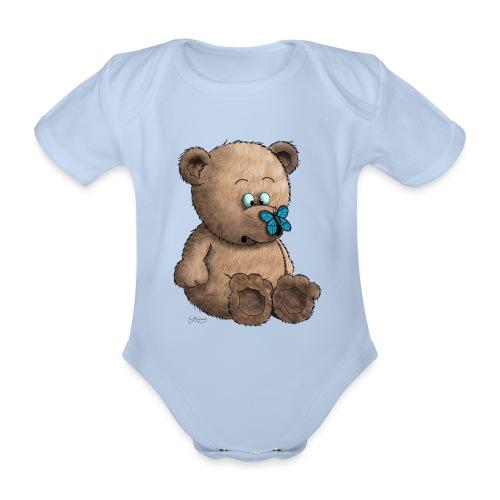Teddybär - Baby Bio-Kurzarm-Body