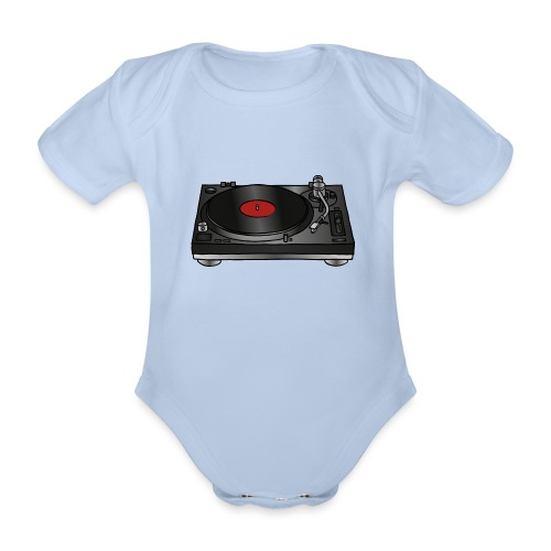 Plattenspieler VINYL - Baby Bio-Kurzarm-Body
