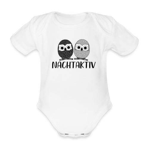 Nachtaktiv - Baby Bio-Kurzarm-Body