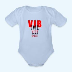 Very Important Babies - Baby bio-rompertje met korte mouwen