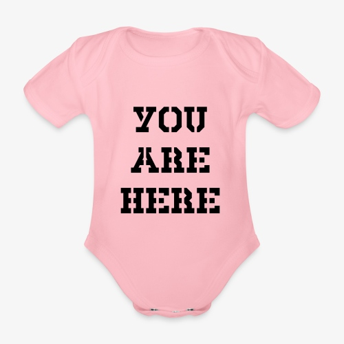 You are here - Baby Bio-Kurzarm-Body