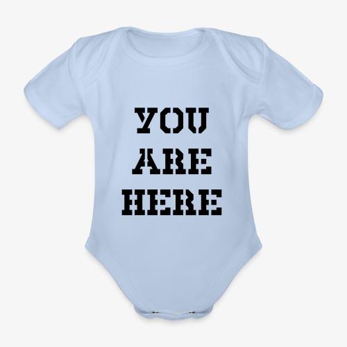 You are here - Baby Bio-Kurzarm-Body