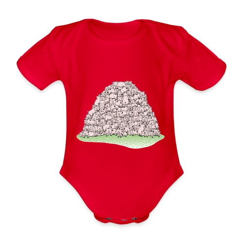 Der Sauhaufen - Baby Bio-Kurzarm-Body