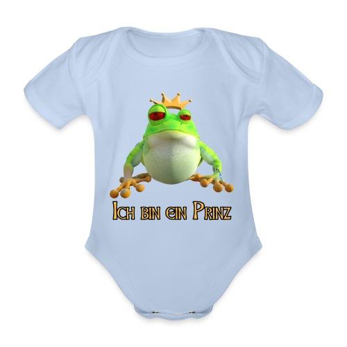 Ich bin ein Prinz - Baby Bio-Kurzarm-Body