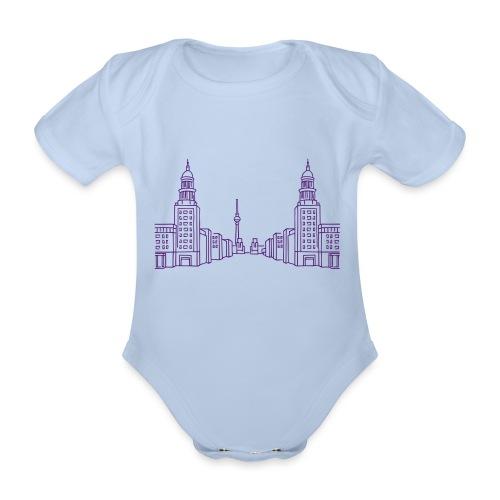 Frankfurter Tor Berlino - Body ecologico per neonato a manica corta