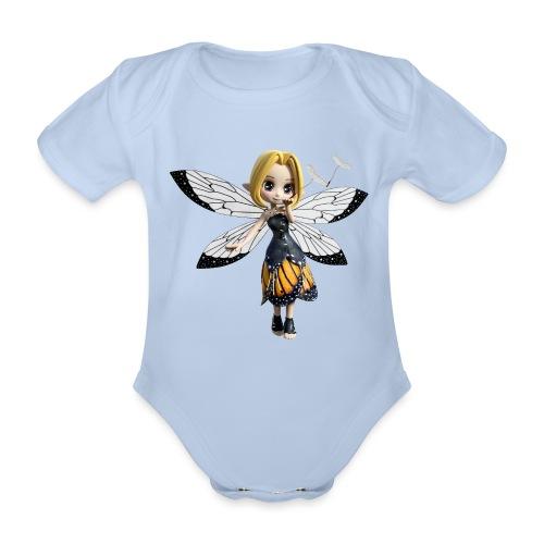 Falterchen - Fairy - Baby Bio-Kurzarm-Body
