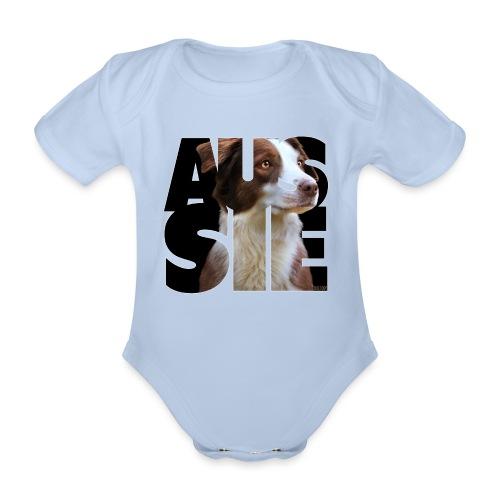 Aussie II - Vauvan lyhythihainen luomu-body
