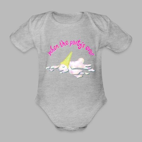 Zonked - Organic Short-sleeved Baby Bodysuit