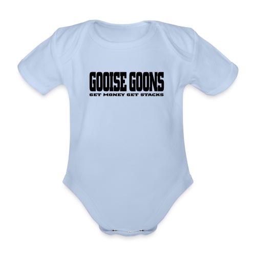 GOOISE GOONS - Baby bio-rompertje met korte mouwen