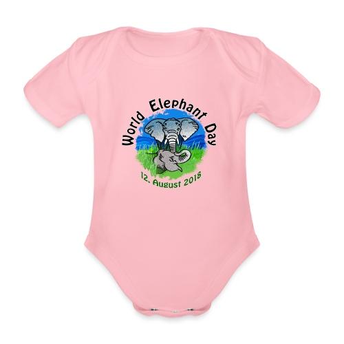 World Elephant Day 2018 - Baby Bio-Kurzarm-Body