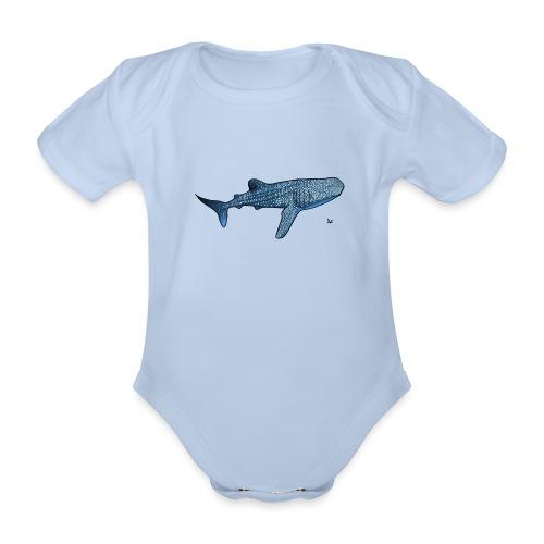 Walhai - Baby Bio-Kurzarm-Body