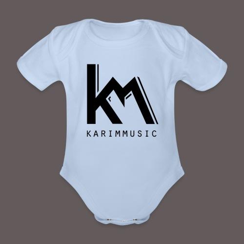 karimmusic - Baby bio-rompertje met korte mouwen