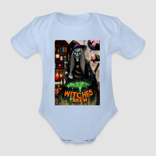 The Witch - Organic Short-sleeved Baby Bodysuit