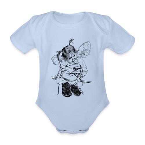 (stiefelengel112015_001) - Baby Bio-Kurzarm-Body
