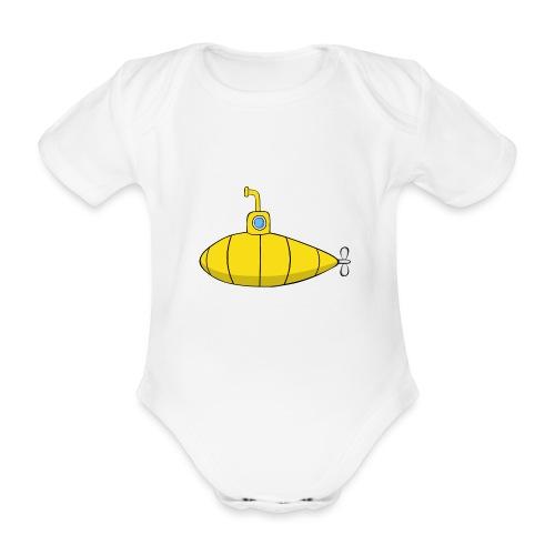 Submarine - Body orgánico de maga corta para bebé