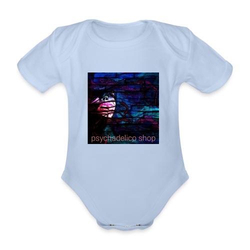 Graffiti design - Ekologisk kortärmad babybody