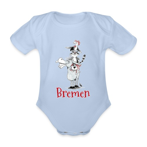 Bremer Stadtmusikanten - Baby Bio-Kurzarm-Body