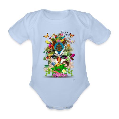 Parfum d'été by T-shirt chic et choc - Body Bébé bio manches courtes