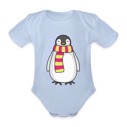 Kleiner Pinguin Kinder-Shirt - Baby Bio-Kurzarm-Body