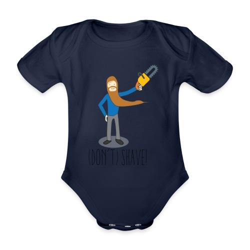 (Don't) SHAVE! - Body ecologico per neonato a manica corta