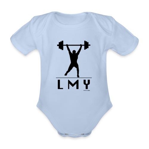 170106 LMY t shirt vorne png - Baby Bio-Kurzarm-Body