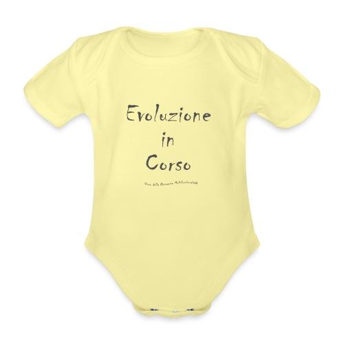 Evoluzione in corso - Body ecologico per neonato a manica corta