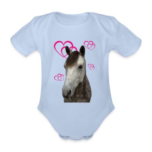 Hästälskare (Pilot) - Ekologisk kortärmad babybody