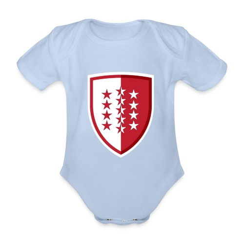Wallis Wallis - Schweiz - Baby Bio-Kurzarm-Body