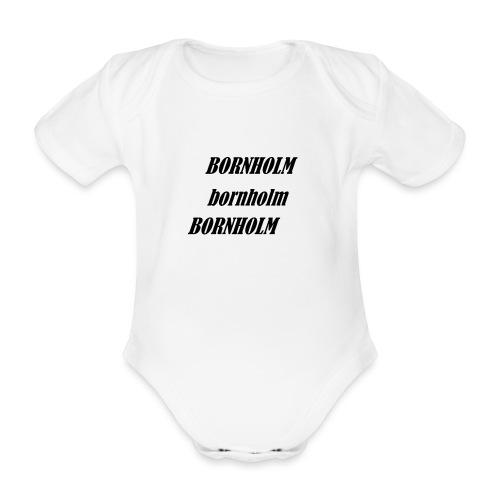 Bornholm Bornholm Bornholm - Kortærmet babybody, økologisk bomuld
