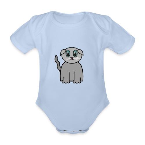 Süßes Kätzchen - Baby Bio-Kurzarm-Body
