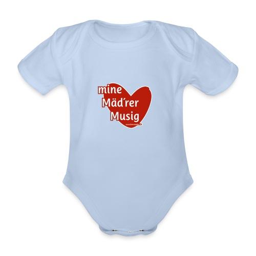 Mine Mäd´rer Musig - Baby Bio-Kurzarm-Body