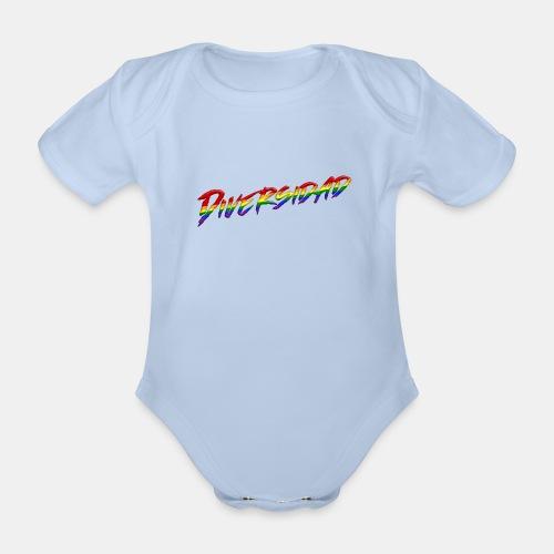 Diversidad Gay - Body orgánico de maga corta para bebé