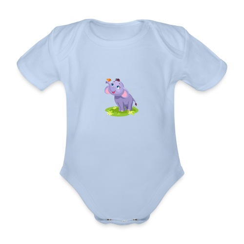 Dambo - Baby Bio-Kurzarm-Body