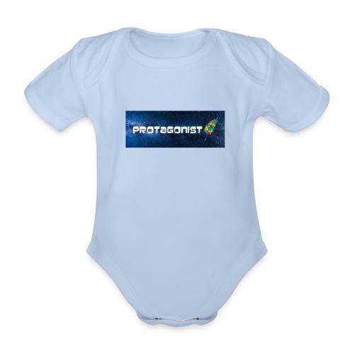 Protagonist by Schreiben-im-Flow.de - Baby Bio-Kurzarm-Body