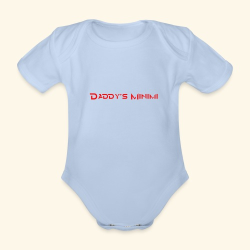 Daddys Minimi - Baby Bio-Kurzarm-Body
