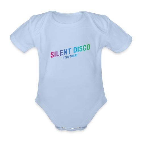 Silent Disco Stuttgart - Gradient - Baby Bio-Kurzarm-Body
