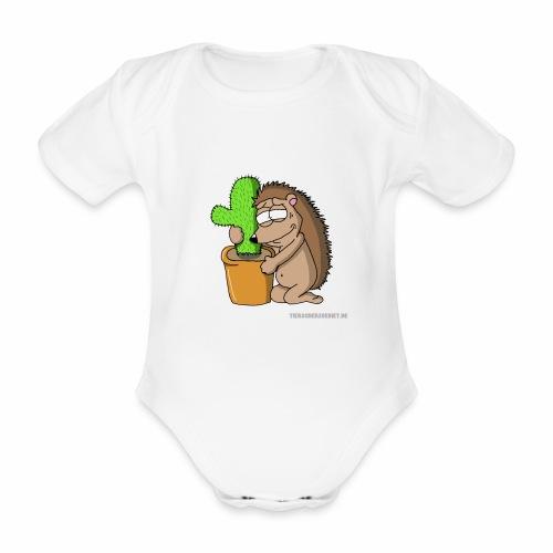 Igel-Liebe - Baby Bio-Kurzarm-Body