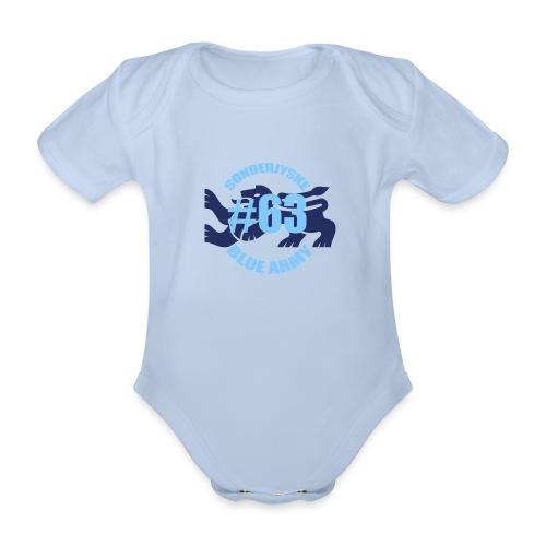 SOENDERJYSKE BLUE ARMY - Kortærmet babybody, økologisk bomuld