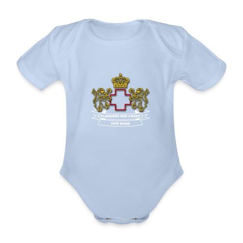 logo kleur PNG - Baby bio-rompertje met korte mouwen