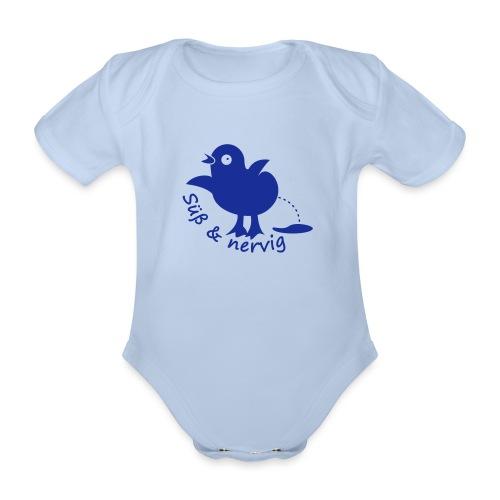Küken Süß und nervig - Baby Bio-Kurzarm-Body
